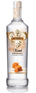 Smirnoff Vodka Kissed Caramel 750ml